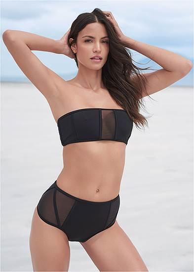 Sports Illustrated Swim™ Caged Bandeau Top