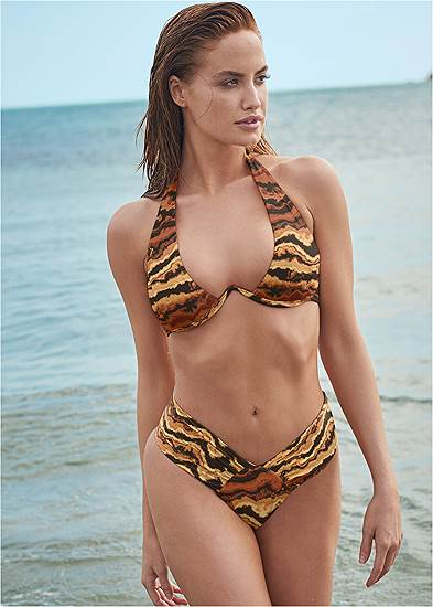 Sports Illustrated Swim™ Windswept Unlined Underwire Top