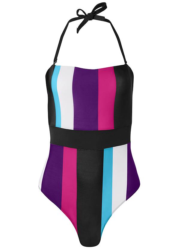 Ghost with background  view Bandeau One-Piece