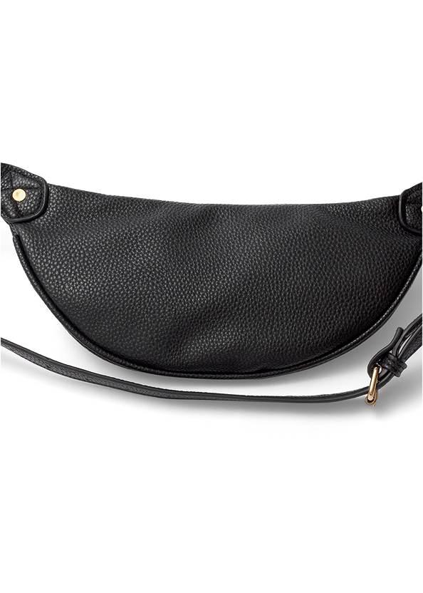 Flatshot back view Multi Chain Charm Belt Bag