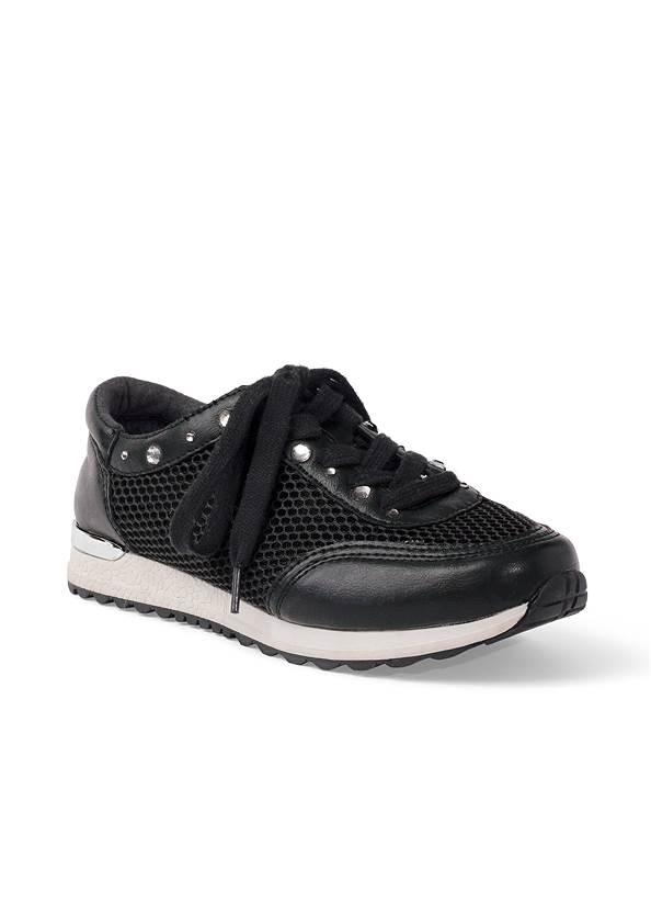 Rhinestone Net Sneakers,Lounge Tie Dye Love Top,Basic Leggings