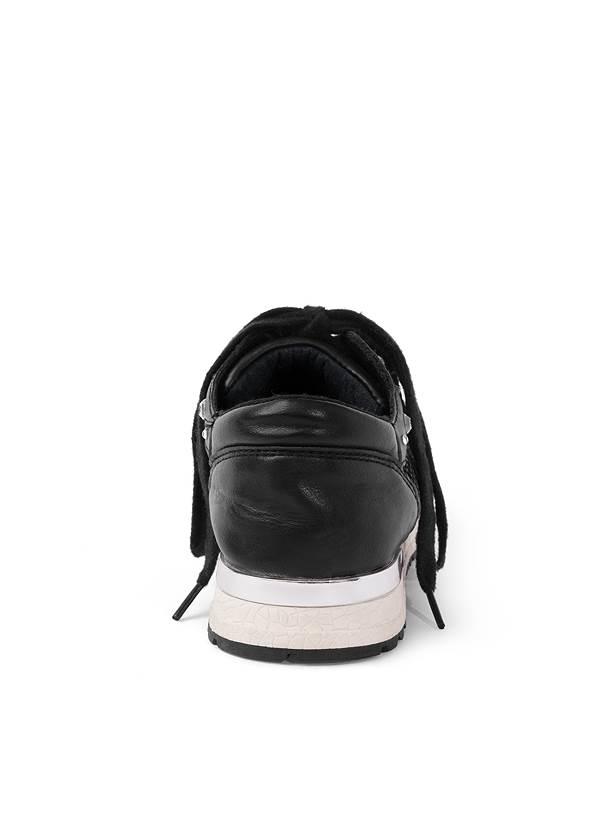 Back View Rhinestone Net Sneakers