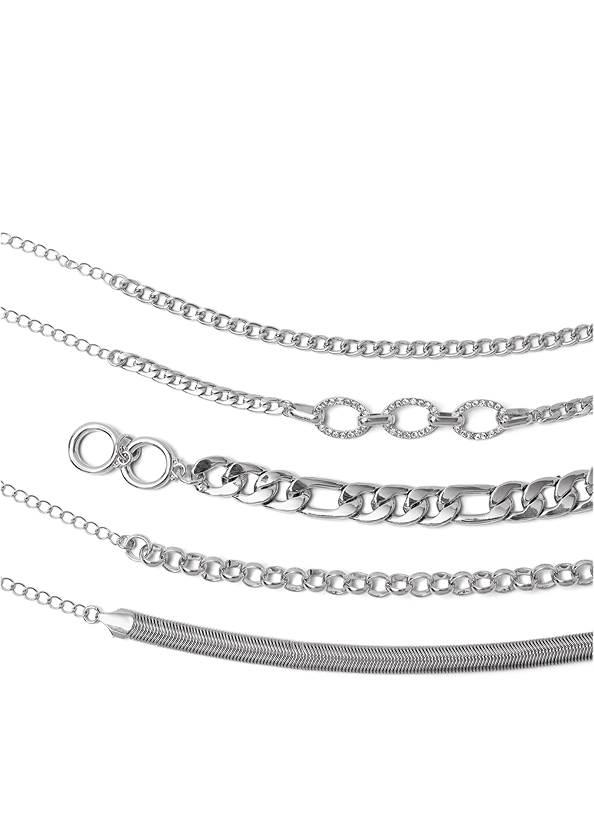 Alternate View Multi Chain Bracelet Set