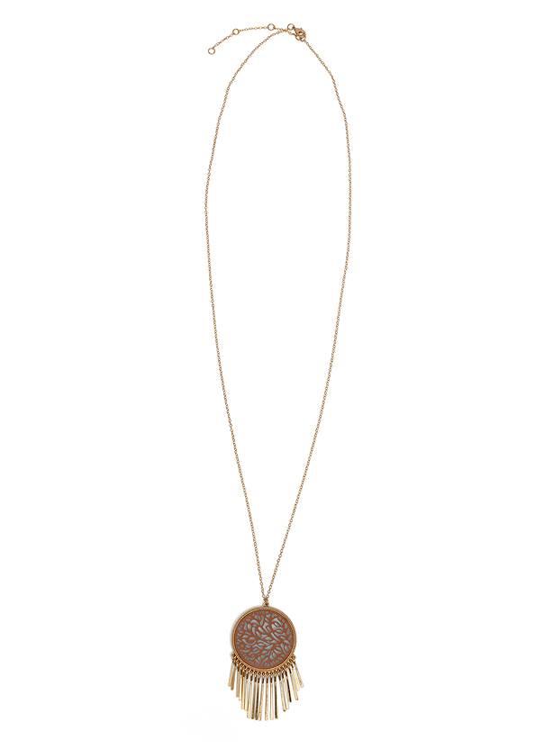 Cutout Pendant Necklace,Jean Jacket,Corset Jean Midi Skirt,Peep Toe Print Heels,Raffia Hoop Earring Set,One Shoulder Cable Knit Sweater