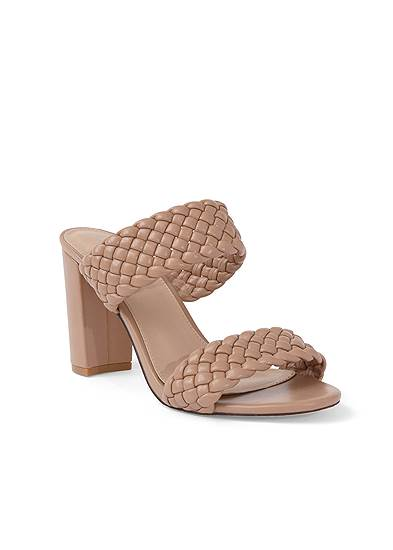 Braided Double Strap Mules