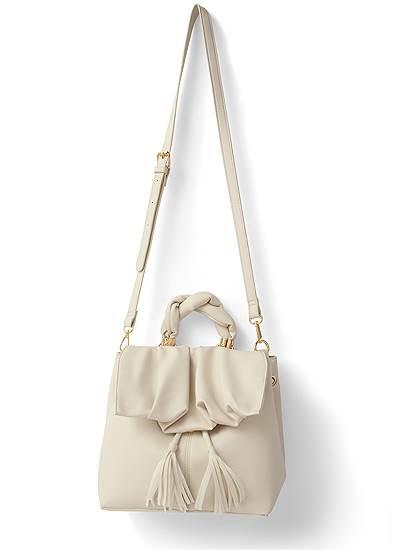 Twist Handle Satchel Bag