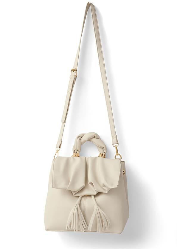 Twist Handle Satchel Bag,Bermuda Suiting Set,Basic Cami Two Pack,Sexy Slingback Heels
