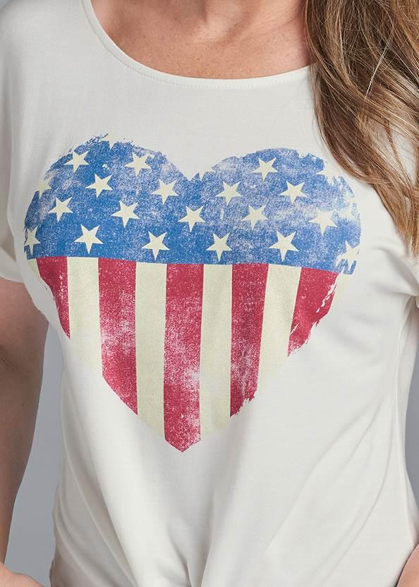 Alternate View Americana Heart Tee