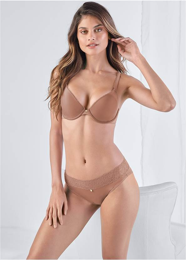 Front View Pearl™ By Venus Perfect Coverage Bra