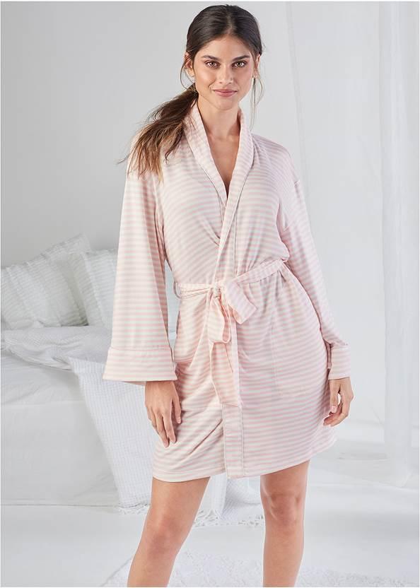 Shawl Collar Kimono Robe
