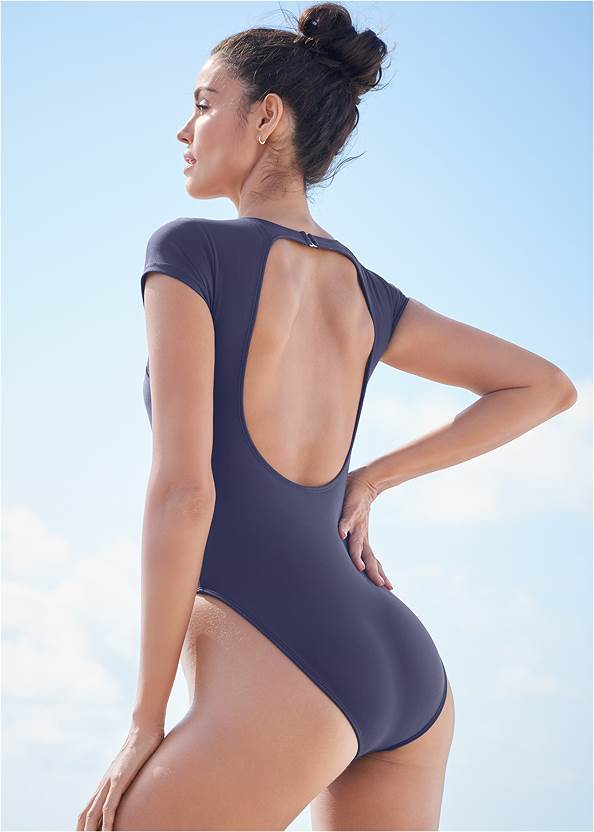 Cropped back view Sports Illustrated Swim™ The Pacific One-Piece