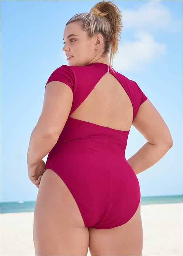 Back View Sports Illustrated Swim™ Alexa One-Piece