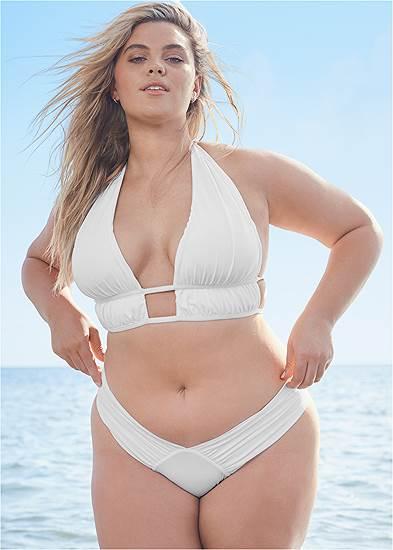 Plus Size Triangle Bikini Tops