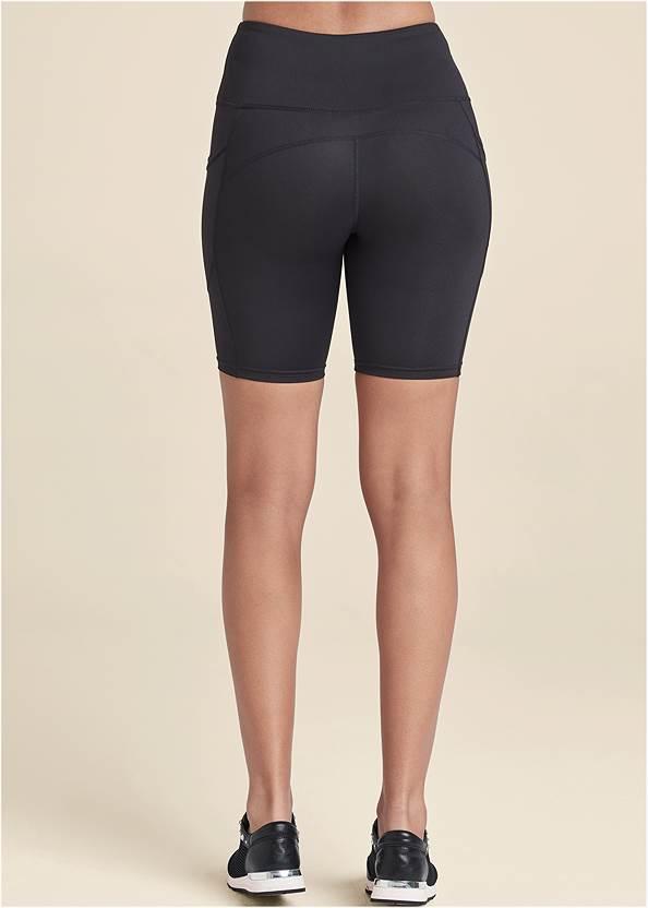 Alternate View High-Rise Pocket Bike Shorts