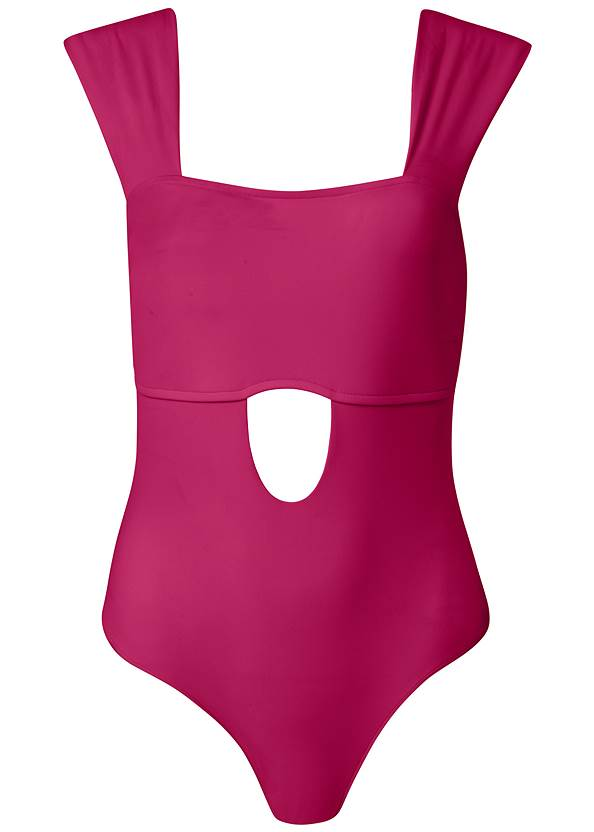 Ghost with background  view Sports Illustrated Swim™ Chic And Sleek One-Piece
