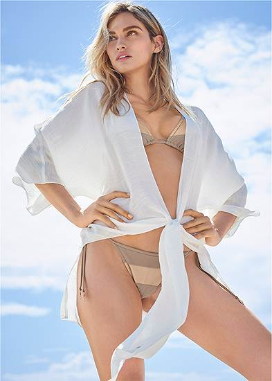Sports Illustrated Swim™ Tie Front Big Shirt