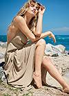 Front View Sports Illustrated Swim™ Flowing Maxi Dress