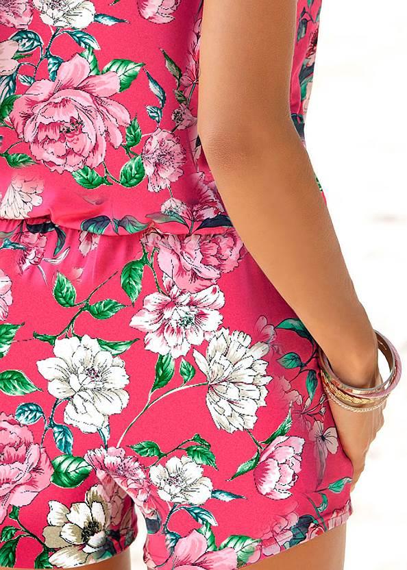 Detail  view Floral Romper