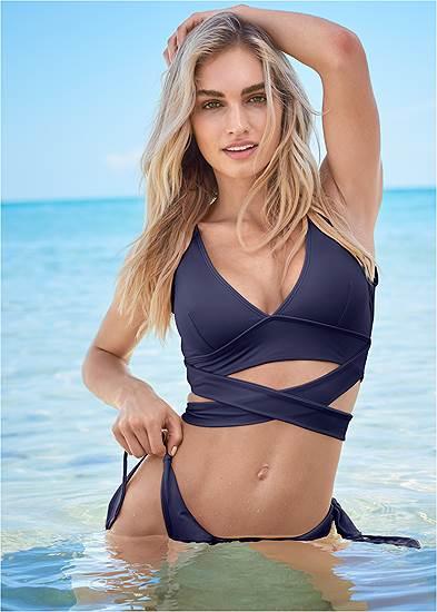 Sports Illustrated Swim™ Wrap Around Triangle Top