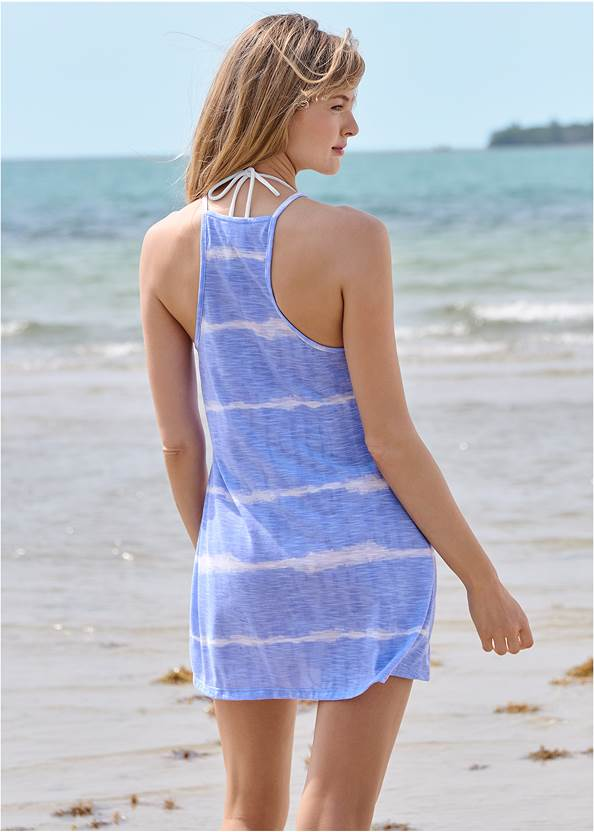 Full back view Racerback Beach Cover-Up