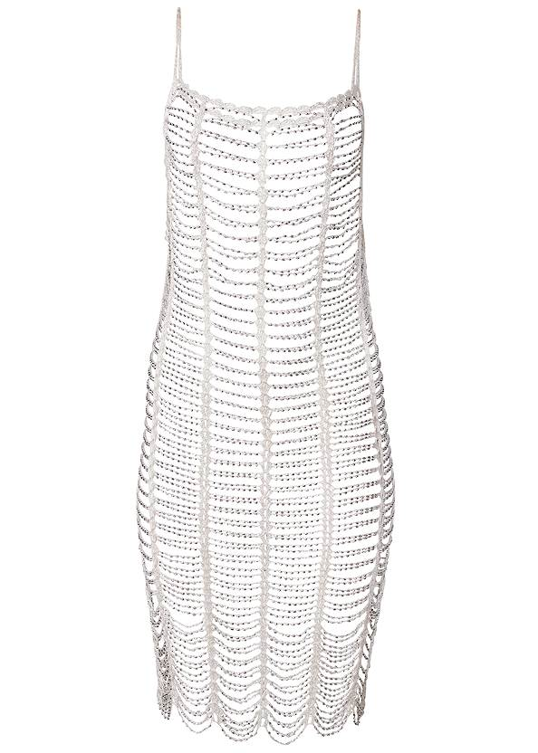 Ghost with background  view Sports Illustrated Swim™ Windowpane Cover-Up Dress