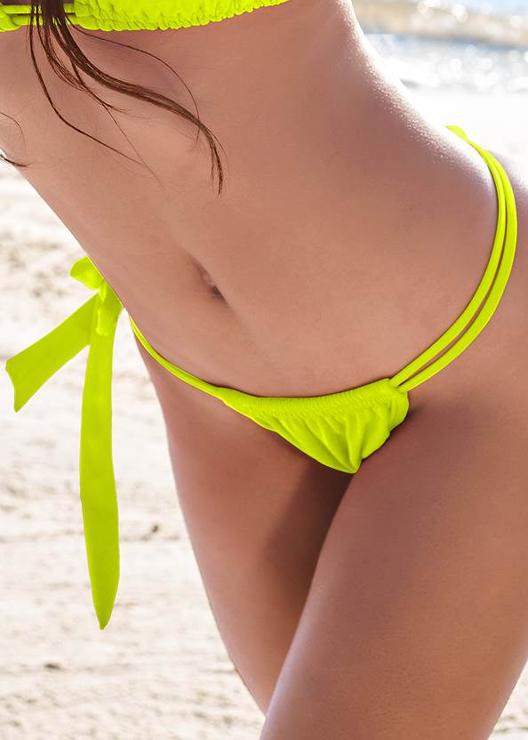 Detail front view Sports Illustrated Swim™ Adjustable Coverage Bottom