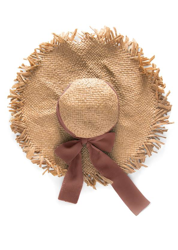 Alternate View Packable Straw Hat