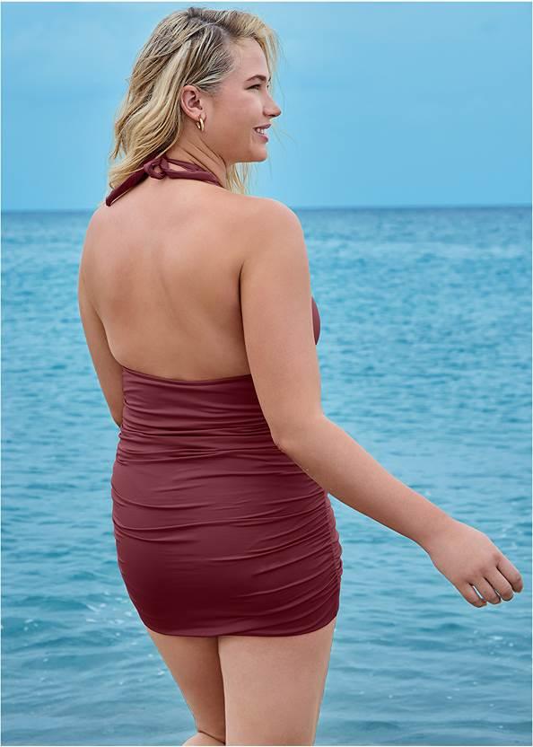 Back View Cali Swim Dress
