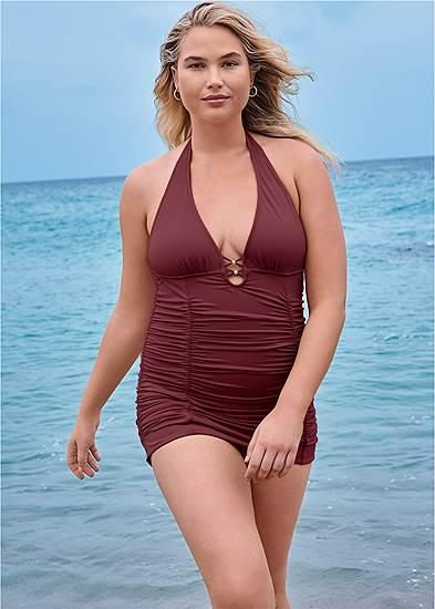 Plus Size Cali Swim Dress