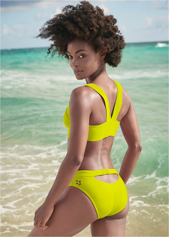 Full back view Sports Illustrated Swim™ Cheeky Low Rise Hipster