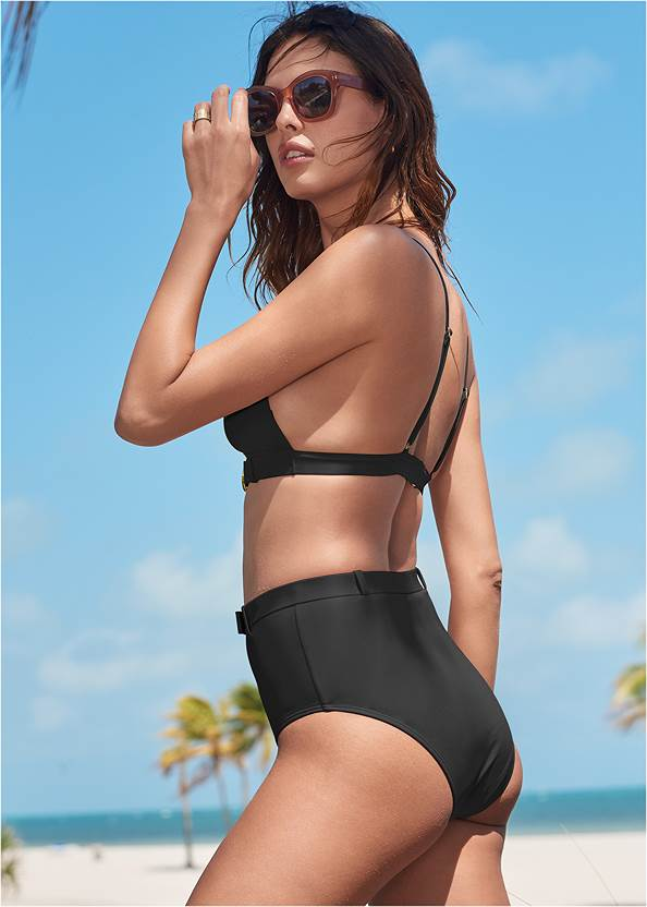 Back View Sports Illustrated Swim™ Logo Belt Triangle Top