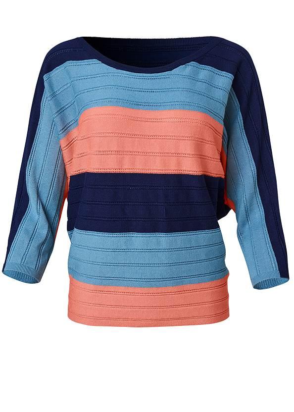 Alternate View Striped Dolman Sweater