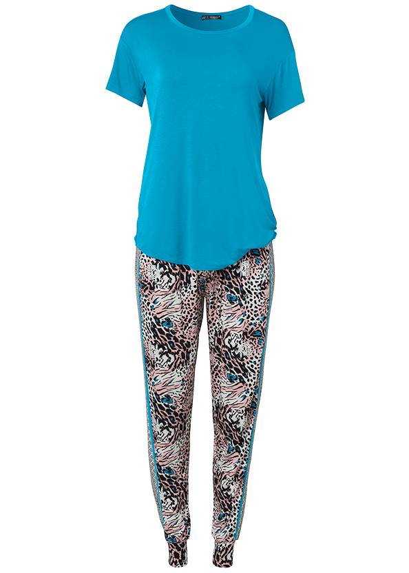 Ghost with background  view Sleep Jogger Set