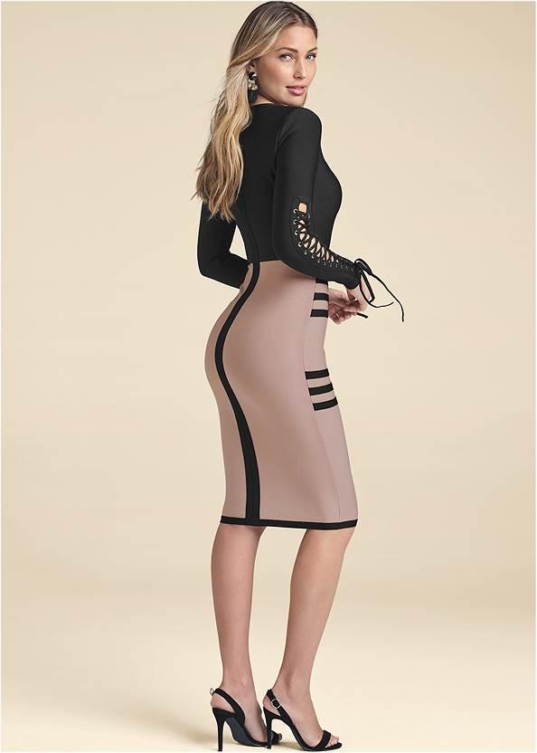 Alternate View Bandage Lace-Up Dress