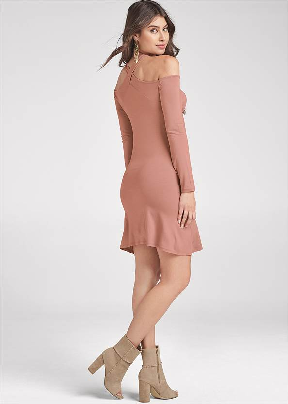 Full back view Casual A-Line Dress