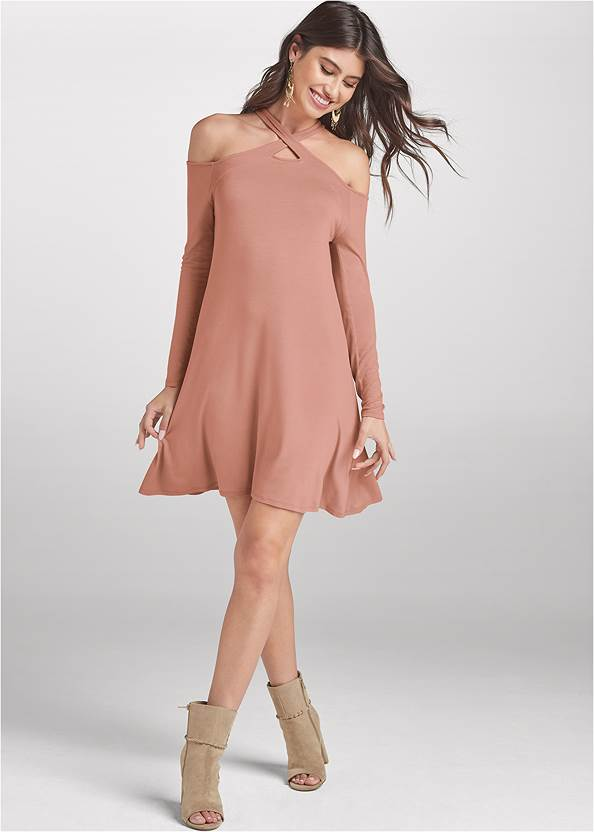 Full front view Casual A-Line Dress