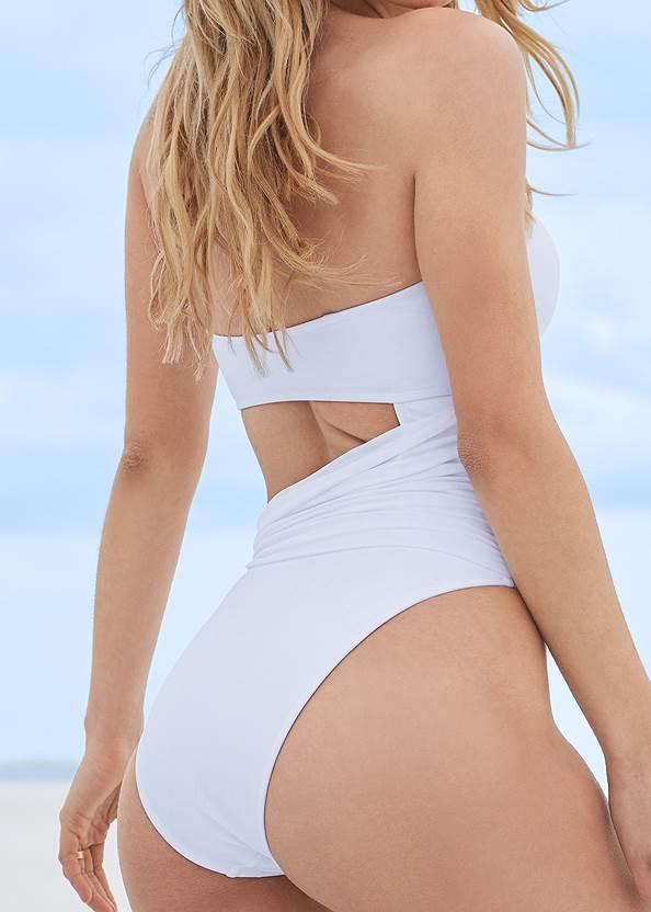 Detail back view Sports Illustrated Swim™ Sash Monokini