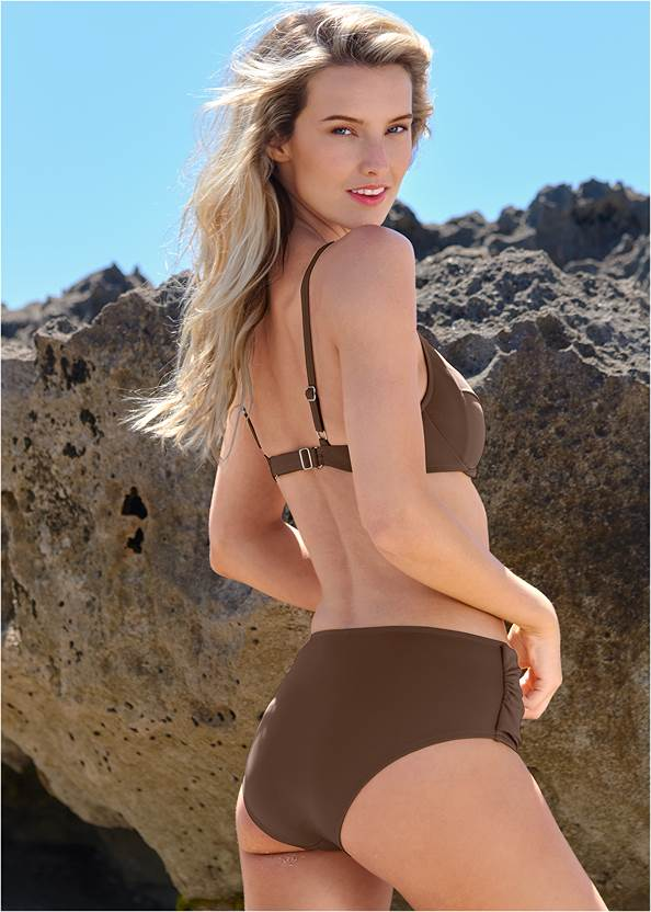 Full back view Sally Underwire Ring Top