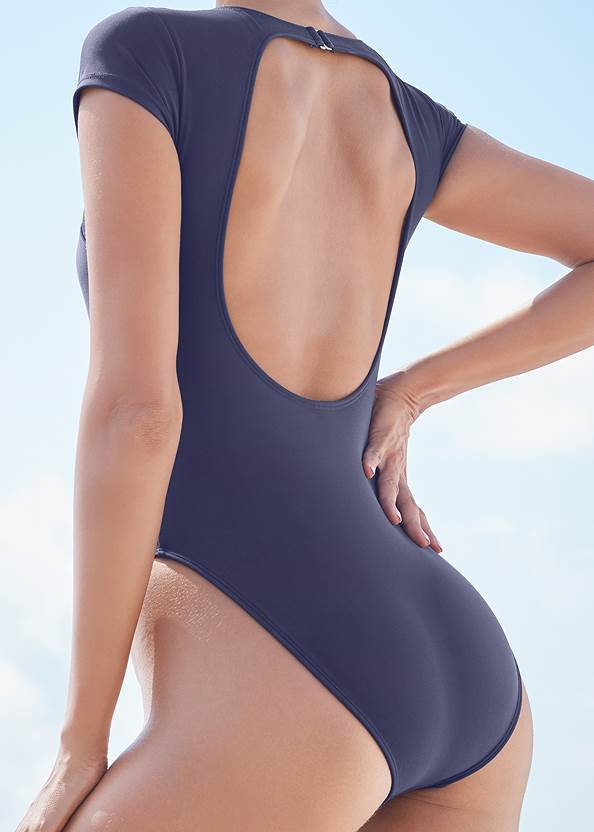 Detail back view Sports Illustrated Swim™ The Pacific One-Piece