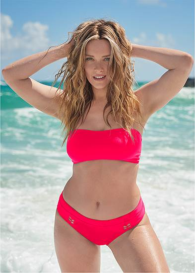 Sports Illustrated Swim™ Sporty Bandeau Top