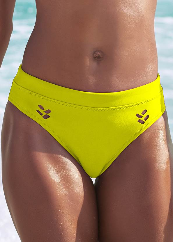 Detail front view Sports Illustrated Swim™ Cheeky Low Rise Hipster