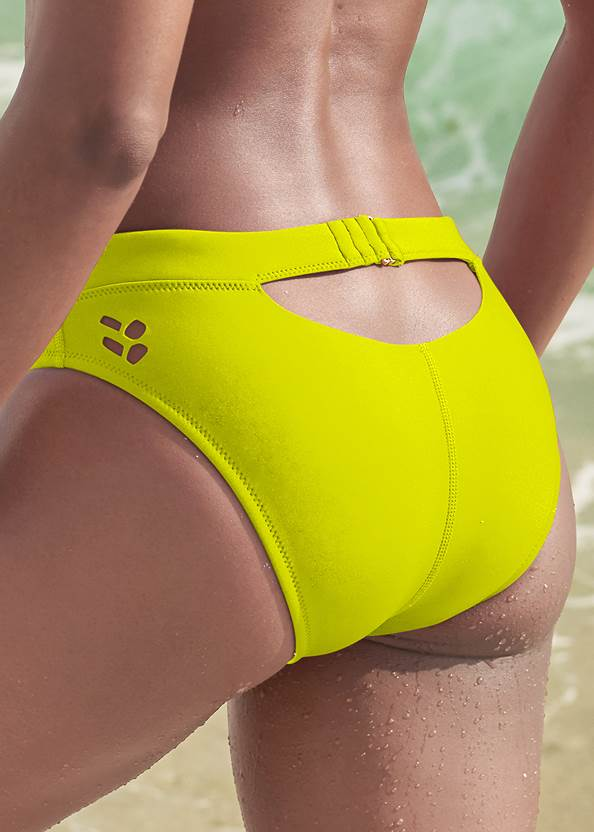 Detail back view Sports Illustrated Swim™ Cheeky Low Rise Hipster