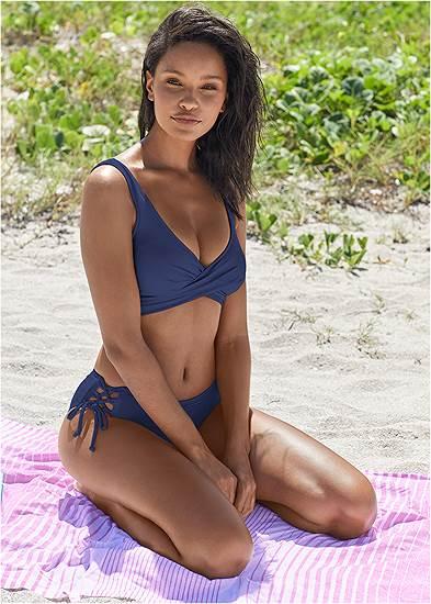 Lattice Side Bikini Bottom