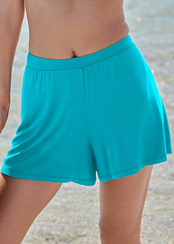 Detail front view Casual Cover-Up Shorts