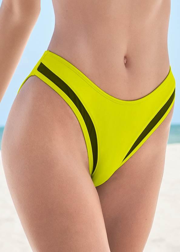 Alternate View Sports Illustrated Swim™ Mesh Scoop High Leg Bottom