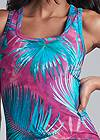 Alternate View Palm Print Maxi Dress