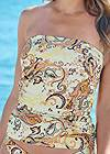 Detail front view Slimming Tankini Top
