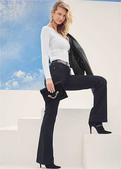Casual Bootcut Jeans