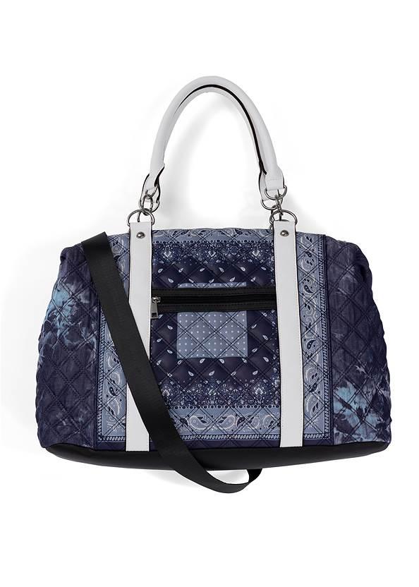 Paisley Denim Weekender Bag,Jean Jacket,Basic Cami Two Pack