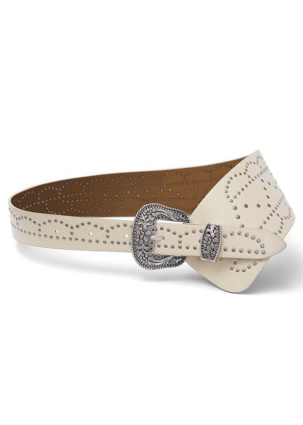 Western Wide Waist Belt,Crochet Sleeve Duster,Basic Cami Two Pack,Bum Lifter Jeans,Western Buckle Wrap Boots,Boho Chandelier Earrings,Studded Round Crossbody